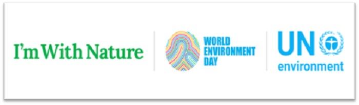 Logo của Liên Hợp Quốc và Ngày Môi trường Thế giới
