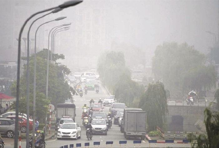 thực trạng ô nhiễm không khí