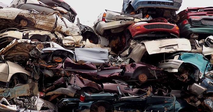 cách tái chế xe ô tô cũ