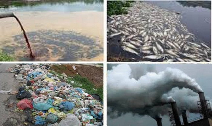 hình ảnh ô nhiễm môi trường ở Việt nam