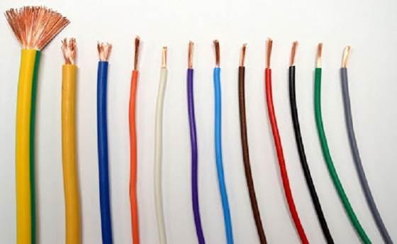 dây điện cũ